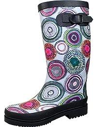 BOCKSTIEGEL® ANJA – Botas de goma para Mujer | Tallas 36-42 | Estilos varios | Botas de jardín | Botas de barro | Botas de agua, Tamaño:41, Color:ANJA