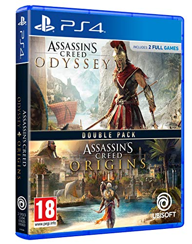 #Videojuego Double Pack: Assassin's Creed Odyssey + Assassin's Creed Origins por 49,99€