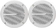 مكبرات الصوت الذكية 1 زوج 6.5 بوصة مكبرات الصوت للماء ماء قارب السقف الجدار المتحدثون المطبخ الحمام مقاومة للم