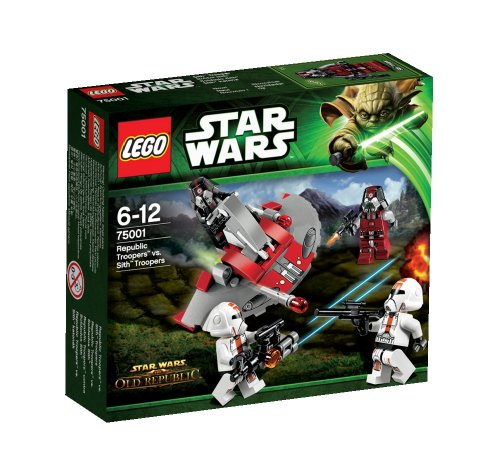 LEGO Star Wars - Republic Troopers vs. Soldados Sith (75001)