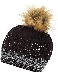 24c5a977736 Eisbär Connor Lux Crystal Women s Hat schwarz graumele Milk ...