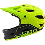 Giro Casco Switchblade MIPS Dirt/MTB, Unisex, Color Matt Lime/Black, tamaño Large/59-63 cm