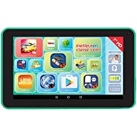 "LEXIBOOK LexiTab 7"" – Tablette Tactile Enfant, Contenu éducatif et ludique, Contrôle Parental – Android, Wi-FI, Bluetooth, Google Play, Youtube – Ref. MFC147"