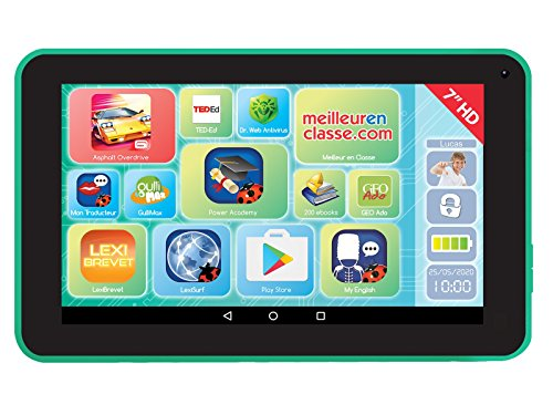 tablet bambini 10 anni LEXIBOOK  LexiTab 7 - Tablet Touch Bambini