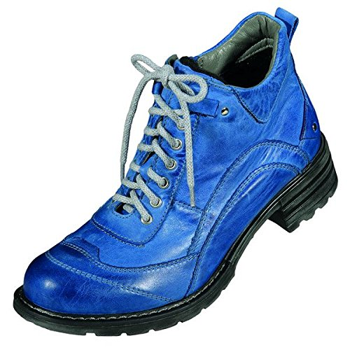 MICCOS 270682Chaussures Femmes de cheville bottes Blue - BLUE
