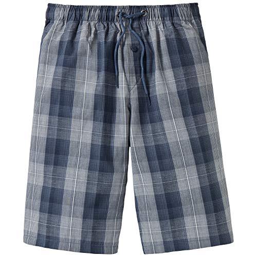 Schiesser Jungen Mix & Relax Longboxer Schlafanzughose Blau (Jeansblau 816) 152 (Herstellergröße: S)