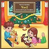 Noël - Livre à colorier pour les enfants - Heureux Mandalas...