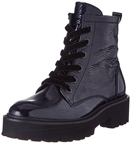 Kennel und Schmenger Bobby, Damen  Combat Boots, Blau (Wave Sohle Schwarz), 43 EU (9 UK)