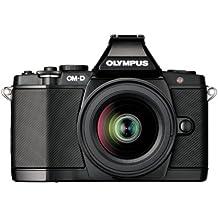 """Olympus OM-D E-M5 - Cámara EVIL de 16.1 Mp (pantalla táctil articulada 3"""", estabilizador óptico, vídeo Full HD), color negra - kit con objetivo M.ZUIKO 12-50mm f/3.5"""
