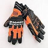 Ziener Goach B. New. Oran, Handschuhe Herren, Orange, 8,5