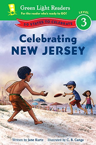 Celebrating New Jersey: 50 States to Celebrate (Green Light Readers Level 3) (English Edition)
