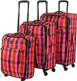 travelite Campus 4-Rad Trolley-Set 3-tlg