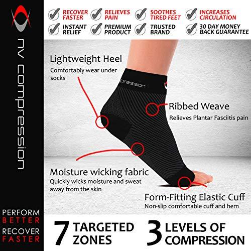 Zoom IMG-2 nv compression cavigliera sportiva elastica
