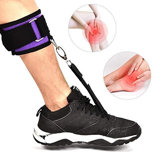 Fuß bis Orthese Fuß Drop Schiene für Sprunggelenk Plantarfasziitis Schmerzen lindern Einstellbare Wrap Compression Verbessern Walking Gang für Mann Frau -