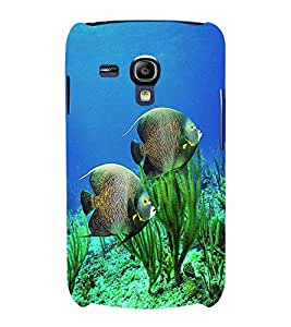 printtech Fish Ocean Coral Back Case Cover for Samsung Galaxy S3 Mini::Samsung Galaxy S3 Mini i8190