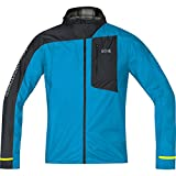 Gore Wear 100105 Chaqueta con Capucha, Hombre, Azul (Dynamic Cyan)/Negro, M