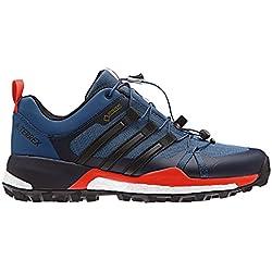 adidas Terrex Skychaser GTX, Zapatillas de Senderismo para Hombre, Azul (Azubas/Negbas/Energi), 46 2/3 EU