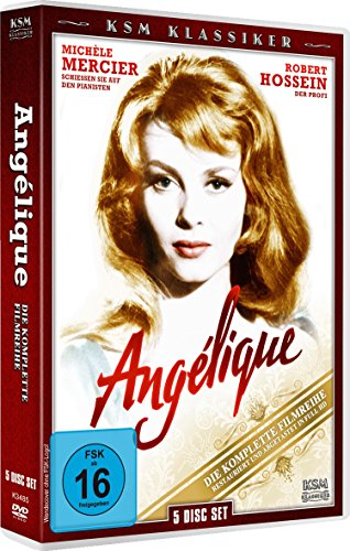 Bild von Angelique - Die Komplette Filmreihe [5 Disc Set]