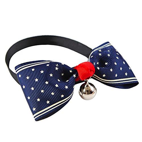 Bow Haustier Hunde Katze Krawatte (Dot)