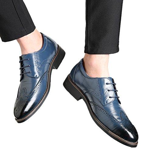 Mocassini da punta uomo elegante festa di nozze scarpe da lavoro vintage formale scarpe in pelle traspirante scarpe vestito da sera estate casual scarpe da ginnastica moda