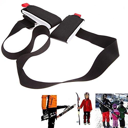 Spalla regolabile e bastoncini da sci snowboard carrier strap