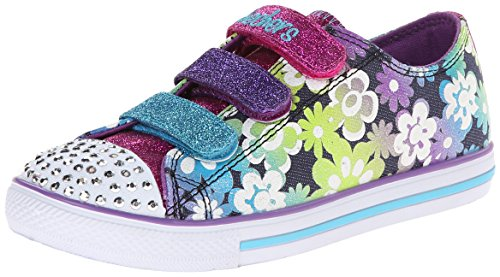 Skechers Chit Chat Glint & Gleam, Girls' Low-Top Sneakers, Multicolor (Dmlt -...