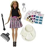 Afroamerikanische Barbie-Mischung N Farben-Haar-Art-Puppe 36 Farben u. Zusätze