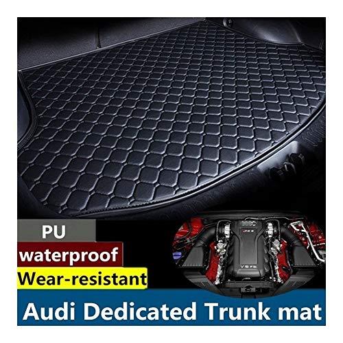 LPQSY Kofferraumwanne, Teppich Cargo Mat Trunk Liner Tray Bodenmatte Tray Boden Teppich, for Audi A1 A2 A3 A4 A5 A6 A7 A8 Q2 Q3 Q5 Q7 2015 2016 2017 2018 (Q7) (Farbe : Q7)