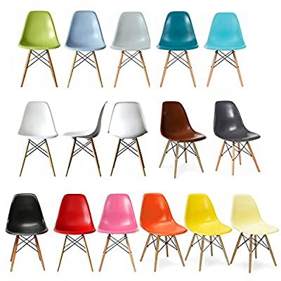 MOF Inspired Eiffel Dining Plastic Chairs Modern Lounge Office Furniture produced by Midland Oak Furniture - quick delivery from UK.