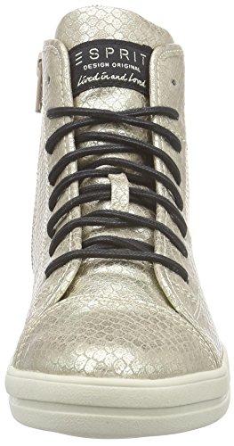 ESPRIT Mega Damen Hohe Sneakers Beige (230 camel)