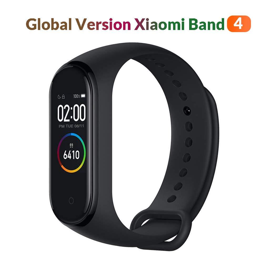 Original Xiaomi MiBand Fitness Tracker, Juventud Unisex, Negro, 0.95″