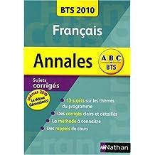 Français BTS : Sujets corrigés
