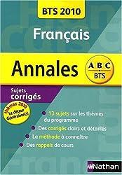 Annales Français BTS 2010 (Le détour / Génération(s)