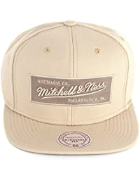 Mitchell & Ness - Casquette de Baseball - À logo - Homme beige beige taille unique