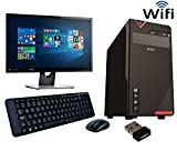 Assembled Shree Krishna Computers and Electronics Intel i5 Desktop PC with 18.5 LED (Shiny Black)