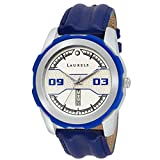 Laurels Dexter II Analog Blue Dail Men W...