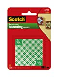 3M SCOTCH PERM MOUNTING SQU 12.7MMWHITE