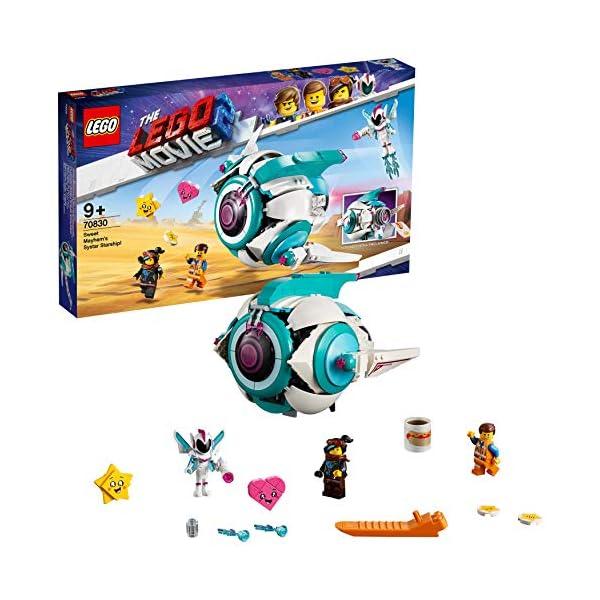 LEGO Movie 2 - L'astronave Sorellare di Dolce Sconquasso!, 70830 2 spesavip