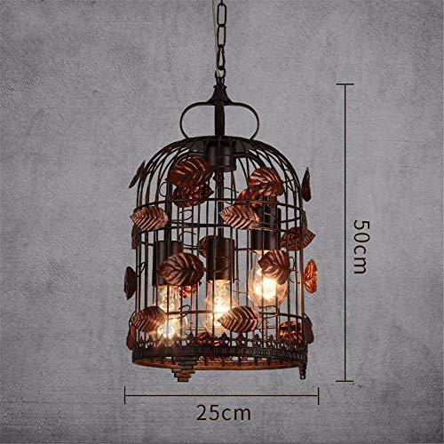 Anhänger Light Industrial Wind, Bird Cage Kronleuchter, Kreative Eisen Deko Lampe, Wohnzimmer Esszimmer, Laterne Vogelkäfig Kronleuchter, Tuba