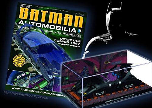 batman-automobilia-collection-n-36-detective-comics-667-subway-rocket