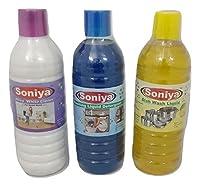 Soniya Dishwasher + Soniya Washing Liquid + Soniya Phenyl (1ltr*3)