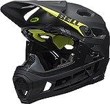 BELL Unisex- Erwachsene SUPER DH MIPS Fahrradhelm, mat/Gloss Black, M
