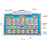 Rvold Electronic Musical Board For Alphabet ABC Learning Toy Play Mat And Drawing Board With One Doodle Pen Multi Color