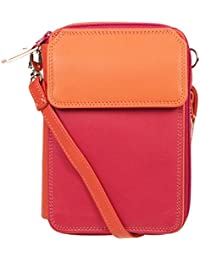 3f7320ad490 Mywalit Double Zip Around Mega Purse Pink Leather Ladies Travel Bag Wallet  Candy 321-24