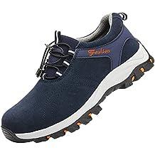 Tapa Acero Zapatos Zapatillas De Seguridad para Hombre Trabajo Industria Calzado Deportiva Antideslizante