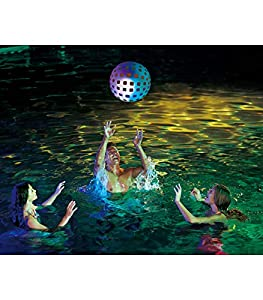 Polygroup Limited- Polygroup 8422259606376 Pelotas 51Cm Hinchable con Luz,, 51 cm (60637)