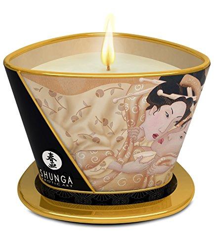 Massagekerze Kerzenlicht und–Desire/Vanille
