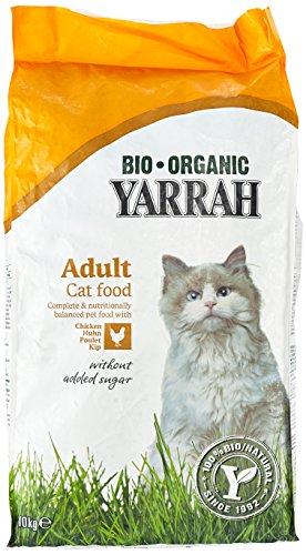 Yarrah Huhn 10 kg Bio Katzenfutter, 1er Pack (1 x 10 kg)