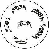 Original Prägeplatten-Maniküre Nail Art Design Zubehör verwendet, um schöne und modischsten Nägel-Pack 1