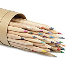 48 Lápices de Colores,Upeffeet Convent Lápices de Dibujo Arte Para Adultos / Niños / Artista / Jardín Secreto Coloring Libro